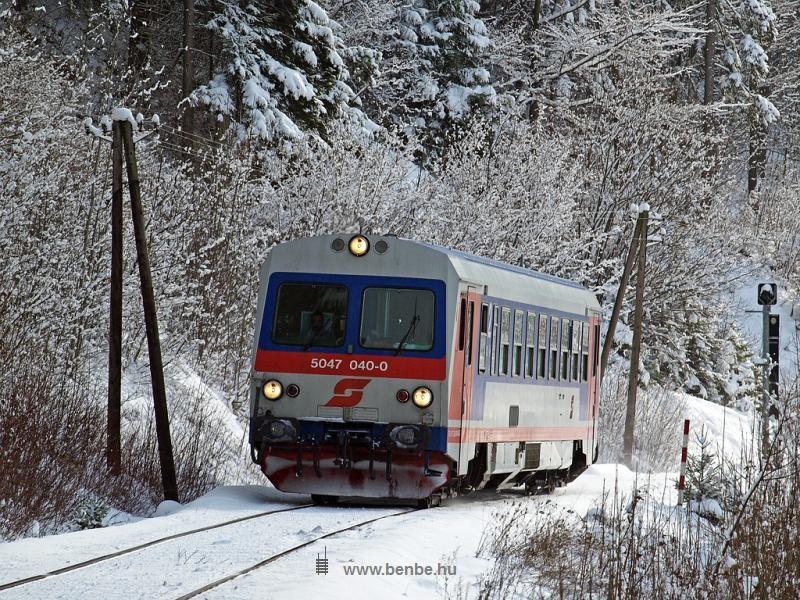 Az ÖBB 5047 040-0 In der Bruck és Hohenberg  között fotó