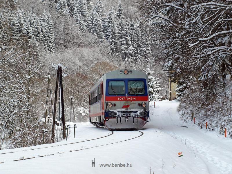Az ÖBB 5047 043-4 Freiland és Innerfahrafeld között fotó