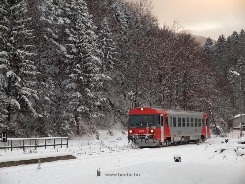 Az ÖBB 5047 009-5 Freiland állomásra érkezik St. Aegyd am Neuwalde felől fotó
