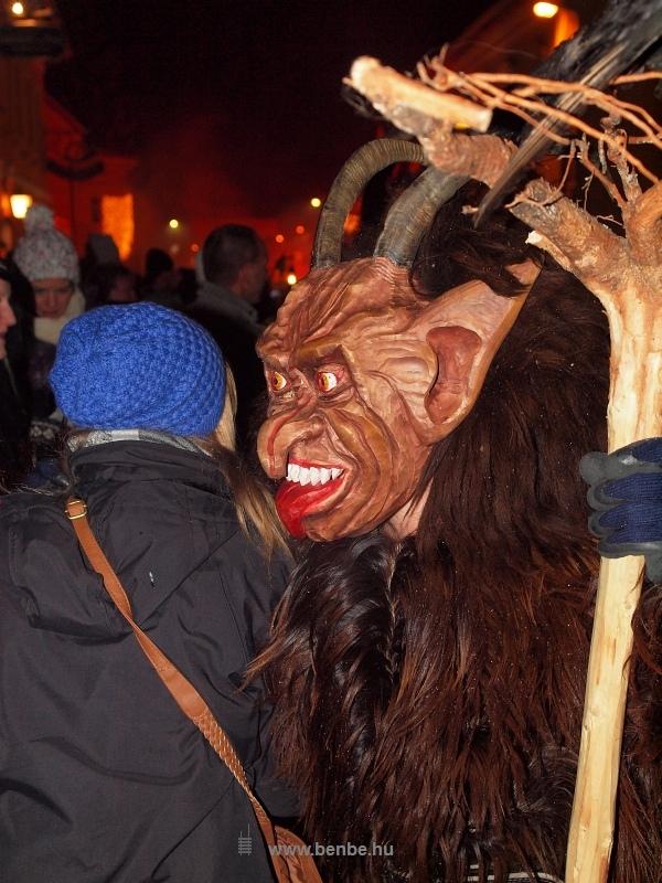 Krampuszfölvonulás Hohenbergben fotó