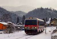 The ÖBB 5047 040-0 between Hohenberg and Furthof on the Traisentalbahn