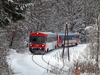 The ÖBB 5047 008-7 between Freiland and Innerfahrafeld