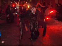 Krampus-march in Hohenberg