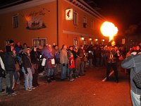 A fire eater in Hohenberg
