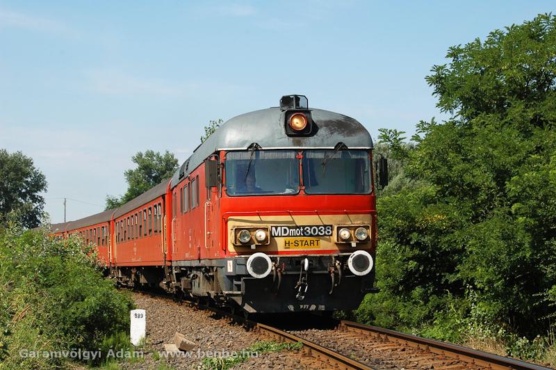 MDmot 3038 a sűrejében fotó