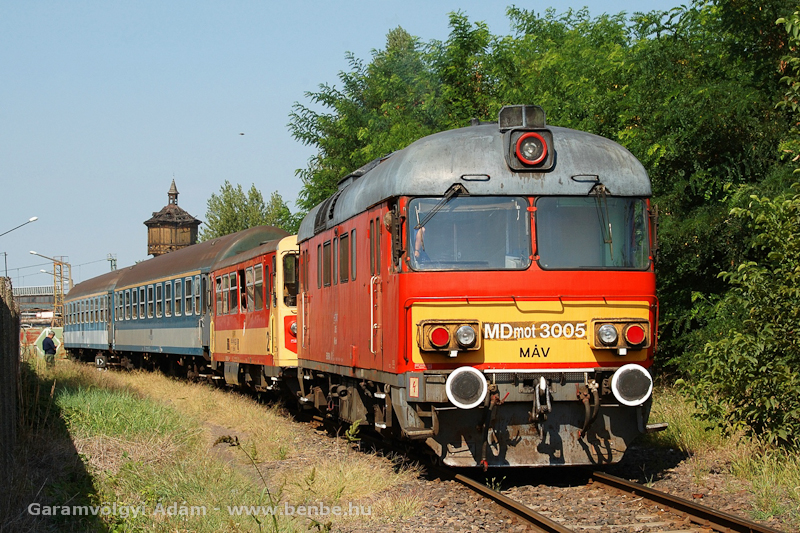 The MDmot 3005 at Szolnok photo