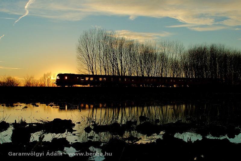 MD motorvonat a Hortobágyon fotó