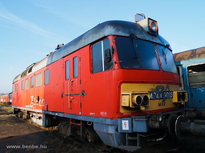 Az MDmot 3035 Sátoraljaújhelyen fotó