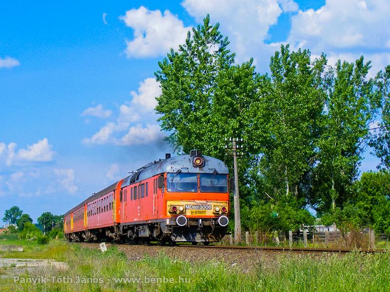Az MDmot 3006 Derecske és Derecske-Vásártér között fotó