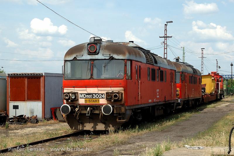 Az MDmot 3024 Debrecenben, selejtezésre várva fotó