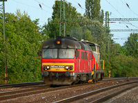 The MDmot 3004 and a remotorised M47 at Budapest-Kelenf�ld