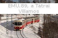 EMU.89, the historic Tatra Electric Railway tram