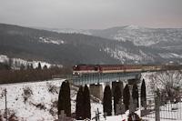 A ŽSSK 754 004-0 Hnilec és Sykavka között