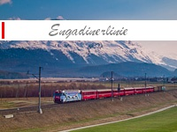 The RhB Engadine Railway