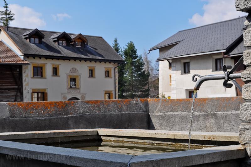 Artézi forrás Zernezben fotó