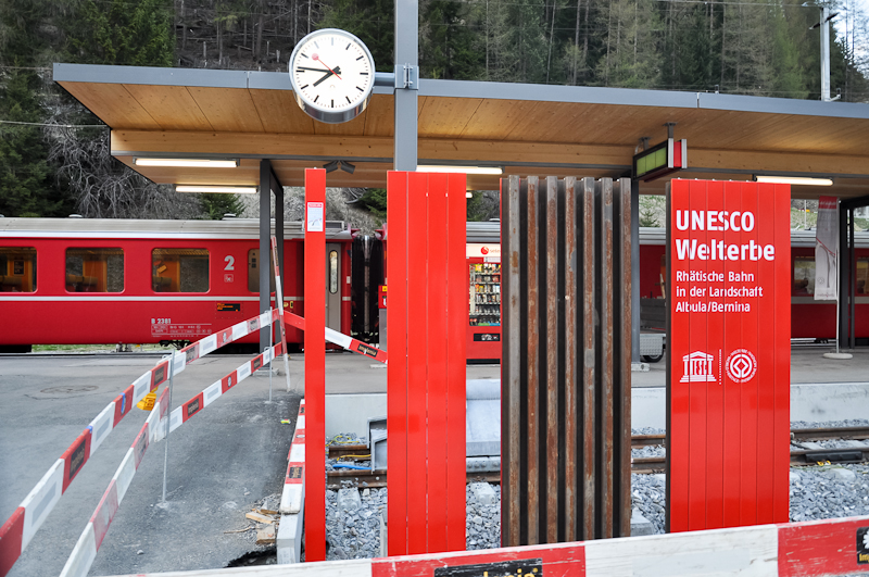 The Albulabahn is part of the UNSECO World Heritage photo