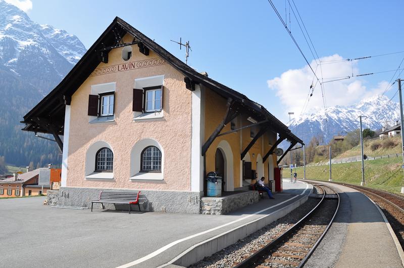 Lavin állomás fotó