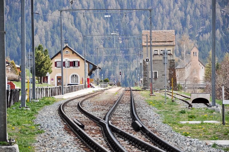 Ardez állomás fotó