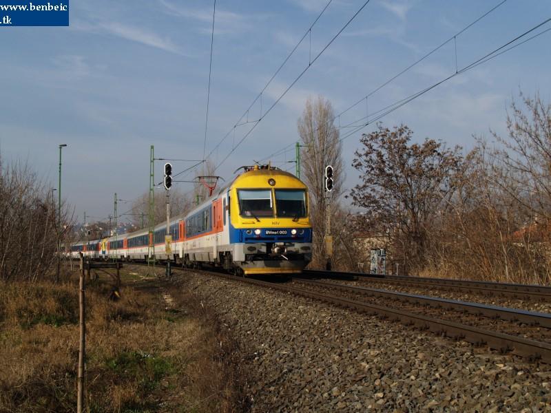 BVmot 003 a Bartók Béla út közelében fotó