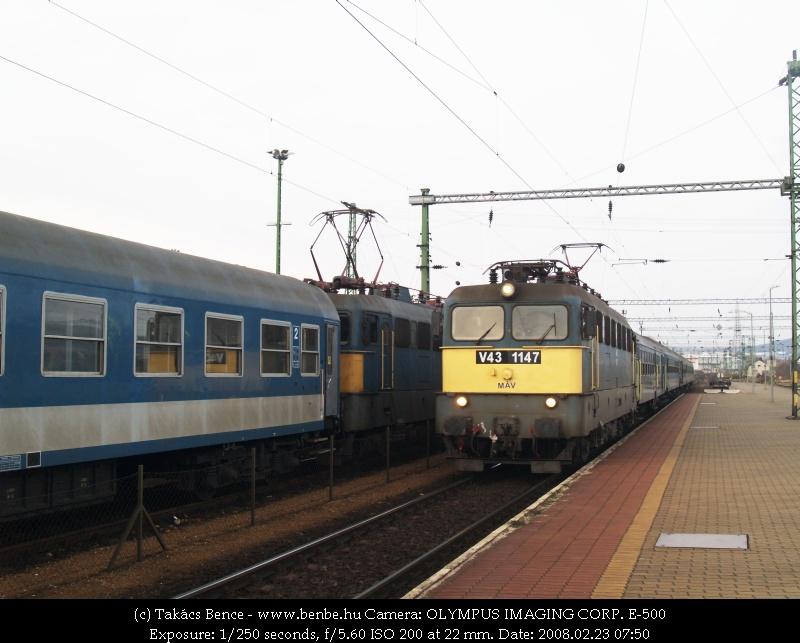 V43 1147 Veszprémben fotó
