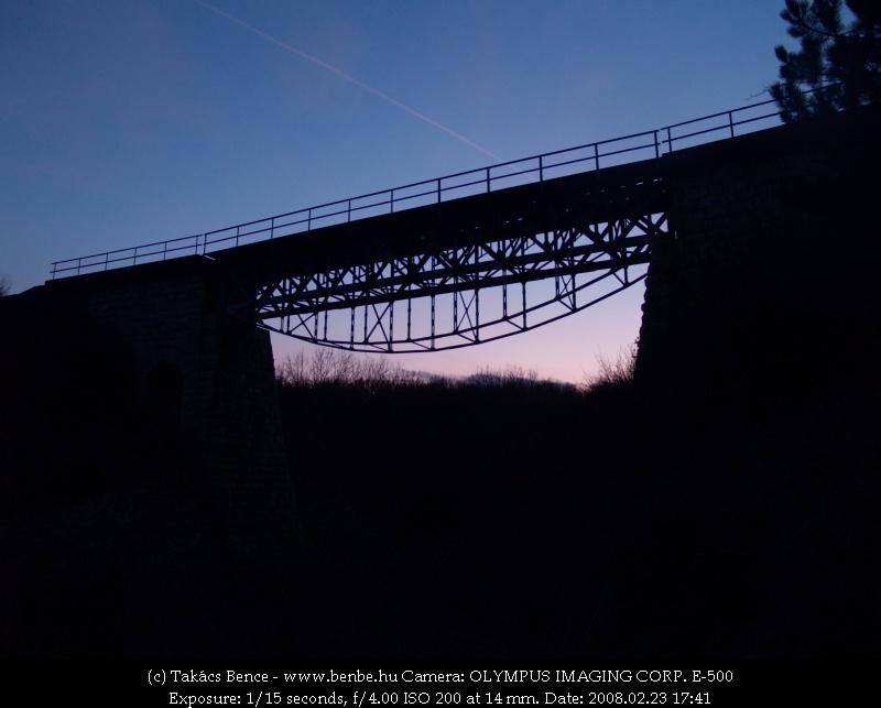 A Répás-völgyi elsõ völgyhíd (avagy a rátóti viadukt) fotó