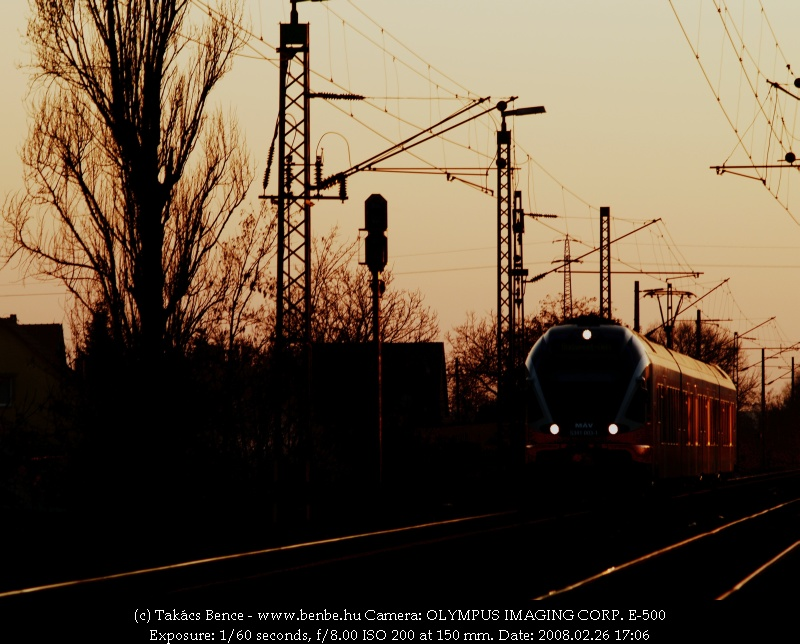 Az 5341 003-1 MÁV FLIRT Tárnokon fotó