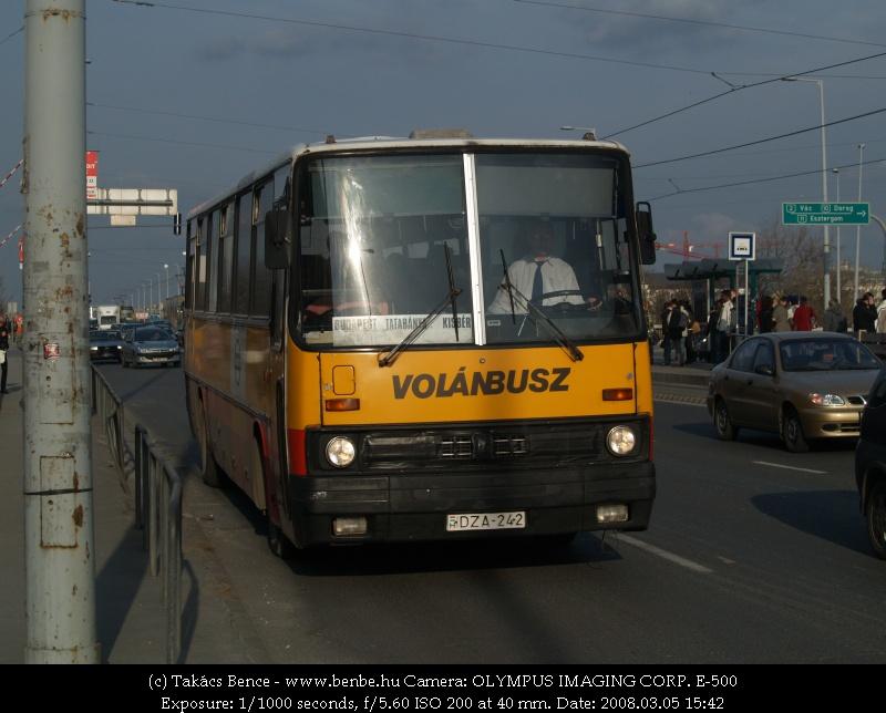 Volánbusz Kisbérre fotó