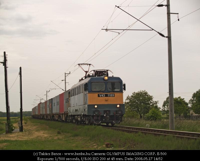 V43 1189 Karakószörcsökön fotó