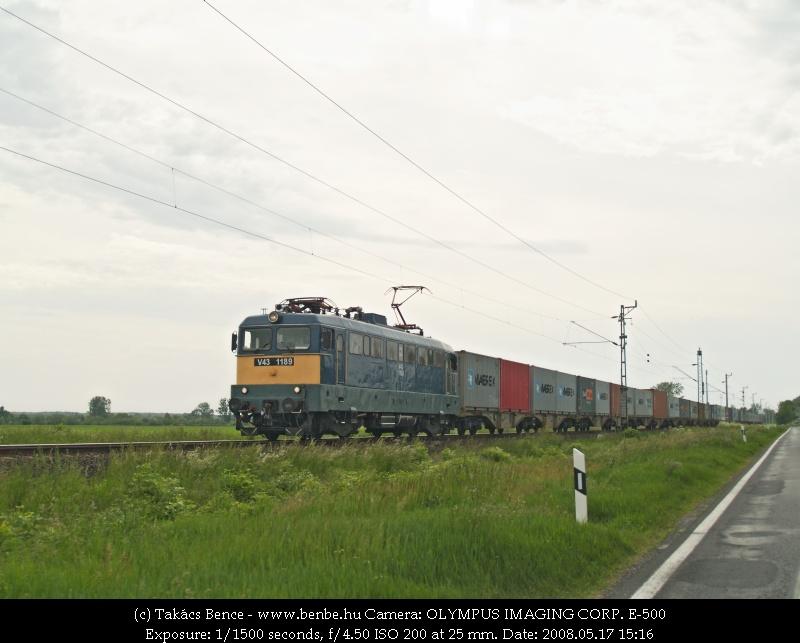 V43 1189 Devecser elõtt fotó