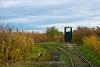 An unidentified Fehér-tavi Halgazdasági Vasút UE28  seen between 18. sz. váltó and Beretzk Péter kiállító-ház (Kiskunsági Nemzeti Park)