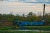 A Szeged-Fehér-tavi Halgazdasági Vasút UE28 8 Szegedfish kft. Központi Telep állomáson