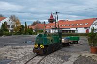 Egy ismeretlen Szegedi Halgazdasági Kisvasút LDM-45 Szegedfish kft. Központi Telep állomáson