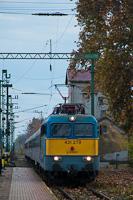 A MÁV-START Zrt. 431 279 Szatymaz állomáson