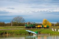 Egy ismeretlen Szeged-Fehér-tavi Halgazdasági Vasút LDM-45 Szegedfish kft. Központi Telep állomáson