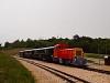 A Vál-Völgyi Kisvasút Mk48 2012 Alcsúti arborétum állomáson