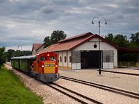 A Vál-Völgyi Kisvasút Mk48 2012 és az Mk48 2016 Felcsút állomáson