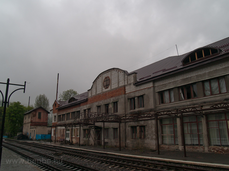Rakhiv station under recons photo