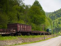 The UŽ 2M62U-0296 seen between Татарів and МИКУЛИЧИН