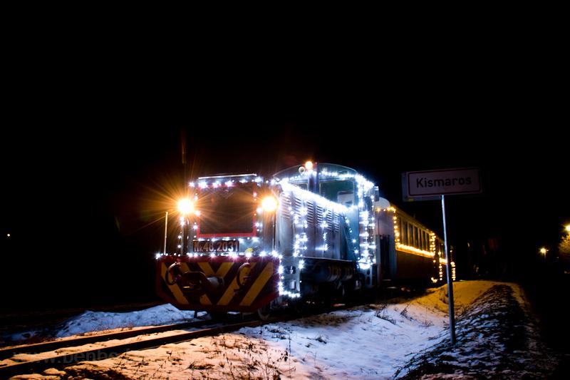 Fények Fotósvonata: A Királyréti Erdei Vasút Mk48 2031 Börzsönyliget és Hártókút között fotó