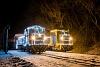 Fények Fotósvonata: A Királyréti Erdei Vasút Mk48 2031 + Mk48 2014 Királyrét állomáson