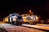 Fények Fotósvonata: A Királyréti Erdei Vasút Mk48 2031 és az Mk48 2014 Kismaros KEV állomáson