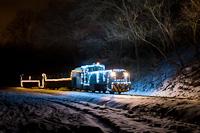 Fények Fotósvonata: A Királyréti Erdei Vasút Mk48 2031 Hártókút és Szokolya-Mányoki között