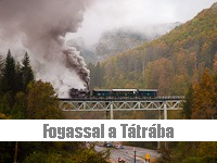 Take the rack train to the Tatras