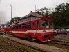 A ŽSSK 812 011-9 Tiszolc állomáson (Tisovec, Szlovákia)