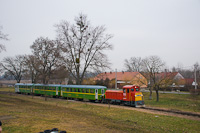 The MÁV-START Mk48 2022 seen at Imremajor (Központi főmajor)