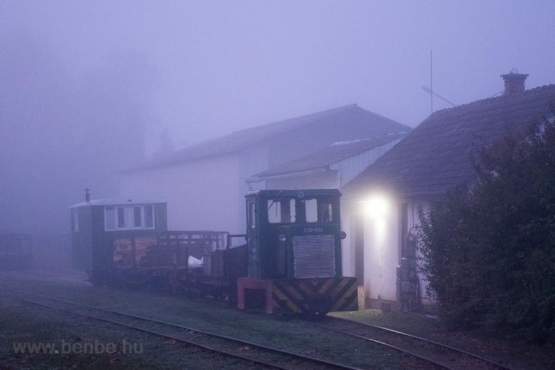 A Csömödéri Erdei Vasút C50 403 Csömödér ÁEV állomáson fotó