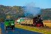 A Csömödéri Erdei Vasút 490 2002 <q>Ábel</q> Kányavár és Töröszneki elágazás között