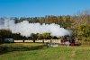 A Csömödéri Erdei Vasút 490 2002 <q>Ábel</q> Töröszneki elágazásnál
