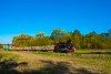 A Csömödéri Erdei Vasút 490 2002 <q>Ábel</q> Kámaházi erdészlak megálló-rakodóhelyen