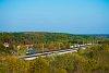 A MÁV-START 630 029 Pankasz és Nagyrákos között, őszi tájban a Nagyrákosi viadukton